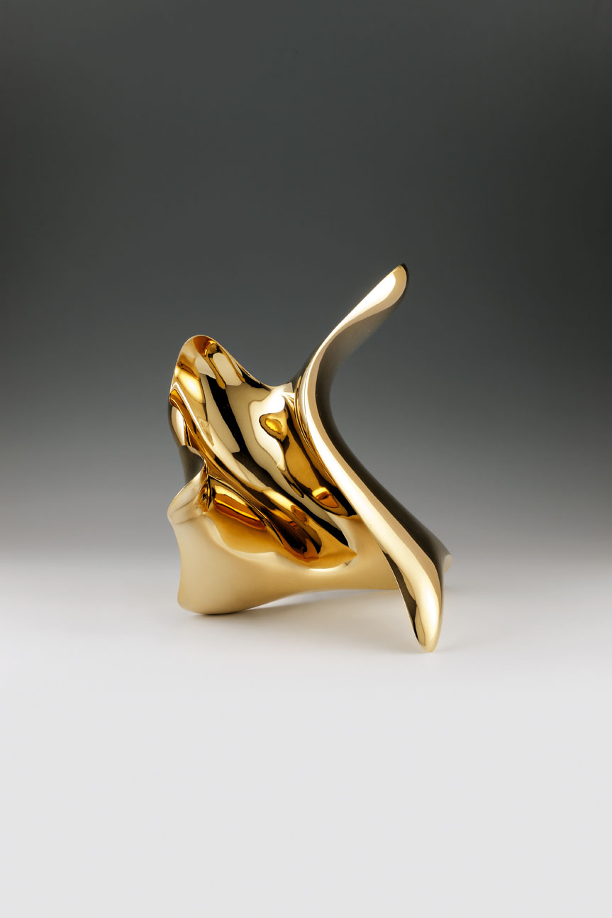 """trans-dimensional object_""""transition""""_bronze polished_2"""