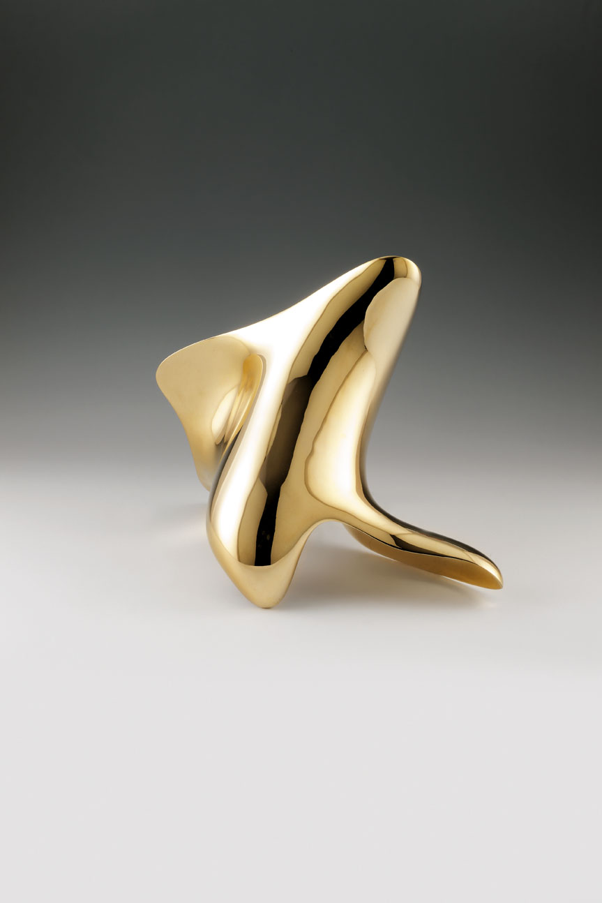 """trans-dimensional object_""""transition""""_bronze polished_3"""