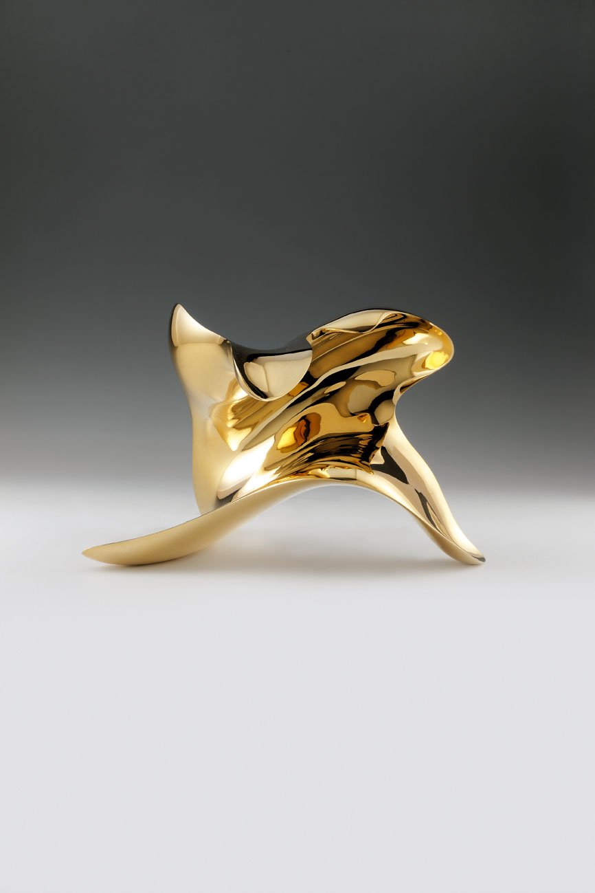 """trans-dimensional object_""""transition""""_bronze polished_1"""