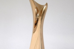 """double wave"" Bronze polished"