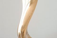 """silver sound"" Bronze hand polished"
