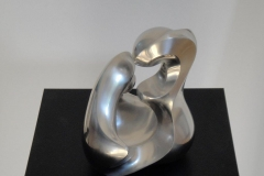 """trinity"" Stainless steel sanded by hand"