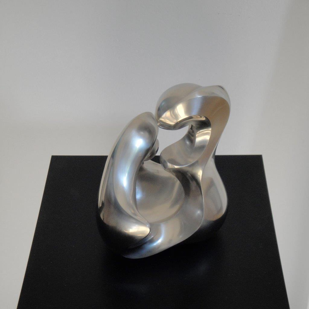 """""""trinity"""" Stainless steel sanded by hand"""